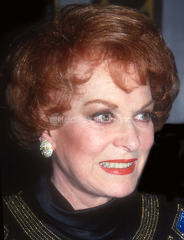 Maureen O'Hara 1993<br /> Photo By John Barrett/PHOTOlink.net /MediaPunch