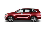 Car Driver side profile view of a 2017 KIA Sorento SX V6 AT 4WD 5 Door SUV Side View
