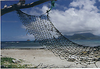 Photo of hammock in Caribbean