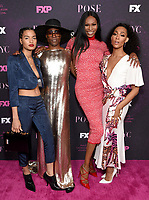 """LOS ANGELES - JUNE 1: (L-R) Cast members Indya Moore, Billy Porter, Dominique Jackson and Mj Rodriguez attend the FYC Event for Fox 21 TV Studios & FX Networks """"Pose"""" at The Hollywood Athletic Club on June 1, 2019 in Los Angeles, California. (Photo by Stewart Cook/FX/PictureGroup)"""