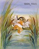 Ron, CUTE ANIMALS, Quacker, paintings, duck, flying(GBSG7215,#AC#) Enten, patos, illustrations, pinturas