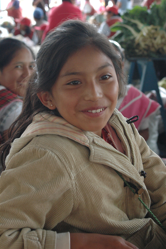 Child in Banos, Ecuador