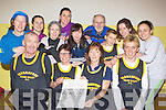Athletes from Farranfore/Maine Valley AC whp are in training for their annual FR Dan Browne memorial 4km road race which will be held in Farranfore at 1pm on St Stephen's day front row l-r: Michael O'Connor, Margaret Moriarty, Ann Ladden, Arthur Fitzgerald. Back row: Sheila Kerley, Julie Walsh, Miriam O'Sullivan, Lorraine Bowler, Emer Daly, Jer Crowley, David Kenny, Mairead Foley and Frances Henderson