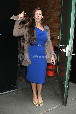 NEW YORK CITY, NY - August 01, 2012: Siggy Flicker at Good Afternoon America in New York City. © RW/MediaPunch Inc.