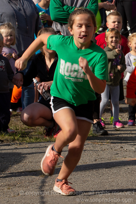 The Barnesville Pumpkin Festival 5K at Barnesville Ohio on September 29, 2018.