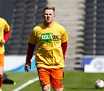 Mark Duffy of Sheffield Utd warms up during the English League One match at  Stadium MK, Milton Keynes. Picture date: April 22nd 2017. Pic credit should read: Simon Bellis/Sportimage