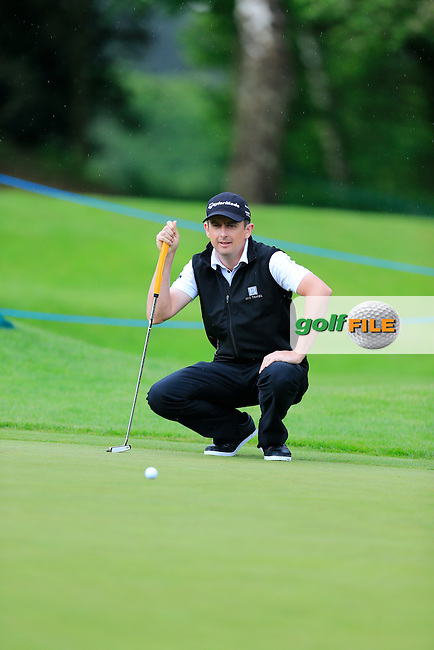 Peter LAWRIE (IRL) during round one of the BMW PGA championship, Wentworth Golf Club, Virginia Waters, London.<br /> Picture: Fran Caffrey www.golffile.ie