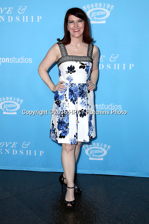 LOS ANGELES - MAY 3:  Kate Flannery at the Love & Friendship LA Premiere at the DGA Theater on May 3, 2016 in Los Angeles, CA