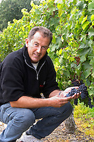 Eric Duffau, owner. Chateau Belle-Garde, Bordeaux, France
