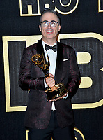 LOS ANGELES, CA. September 17, 2018: John Oliver at The HBO Emmy Party at the Pacific Design Centre.<br /> Picture: Paul Smith/Featureflash