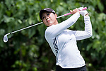 Golfer Yezhou Lin of China during the 2017 Hong Kong Ladies Open on June 10, 2017 in Hong Kong, Hong Kong. Photo by Chris Wong / Power Sport Images.