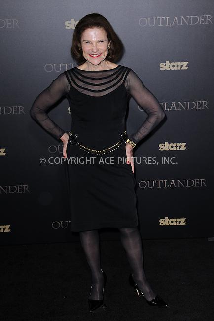 WWW.ACEPIXS.COM<br /> April 1, 2015 New York City<br /> <br /> Tovah Feldshuh attending STARZ Original series &ldquo;Outlander&rdquo; celebration of &ldquo;Droughtlander&rdquo; at a special premiere screening of &ldquo;The Reckoning&rdquo; at The Ziegfeld Theater on  April 1, 2015 in New York City.<br /> <br /> Please byline: Kristin Callahan/AcePictures<br /> <br /> ACEPIXS.COM<br /> <br /> Tel: (646) 769 0430<br /> e-mail: info@acepixs.com<br /> web: http://www.acepixs.com