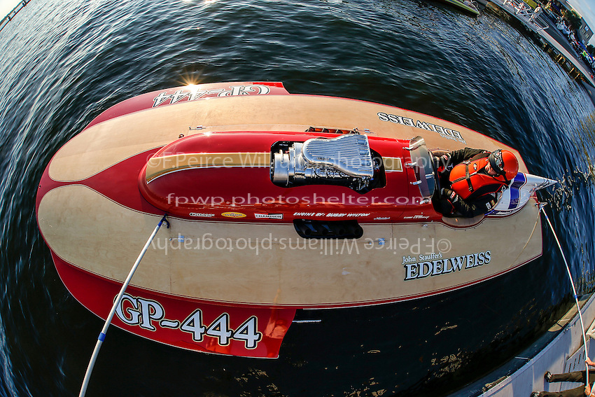 "Bill Pearson, GP-444 ""Edelweiss""  (2008 Lauterbach built replica of a Grand Prix hydroplane)"