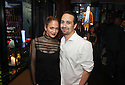 "Actress Jennifer Lopez and actor Lin-Manuel Miranda are seen at the R Lounge where Hennessy V.S.O.P Privilege Celebrated Lin-Manuel Miranda's Final Performance in ""Hamilton""  on Saturday, July 9, 2016, in New York. (Photo by Donald Traill/Invision for Hennessy V.S.O.P Privilege/AP Images)"
