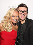 Kristin Chenoweth and Christian Siriano attends the Opening Night celebration for Kristin Chenoweth - 'My Love Letter To Broadway'  at the Bar Sixty Five at the Rainbow Room Bar on November 2, 2016 in New York City.