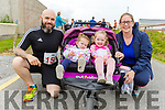 Lily, Emily, Hughie and Nora O'Shea ready for road at the Banna 10k on Sunday morning.