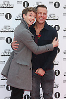 WWW.ACEPIXS.COM<br /> <br /> November 8 2015, London<br /> <br /> Matt Edmondson and Scott Mills arriving at the Radio 1 Teen Awards at Wembley Arena on November 8 2015 in London<br /> <br /> By Line: Famous/ACE Pictures<br /> <br /> <br /> ACE Pictures, Inc.<br /> tel: 646 769 0430<br /> Email: info@acepixs.com<br /> www.acepixs.com