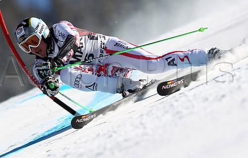 06.12.2011. Beaver Creek, USA. Ski Alpine FIS World Cup Giant slalom the men Picture shows Hannes Reichelt AUT