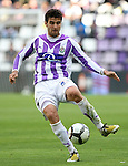 Real Valladolid's Antonio Barragan during La Liga match. May 1, 2010. (ALTERPHOTOS/Acero)