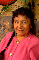 American Indian woman age 68 in her home.  St Paul  Minnesota USA