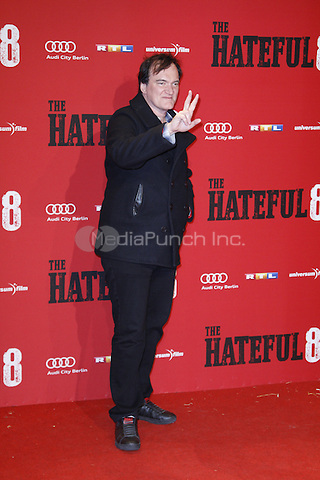 Quentin Tarantino attending the The Hateful 8 premiere held at Zoo Palast, Berlin, Germany, 26.01.2016. <br /> Photo by Christopher Tamcke/insight media /MediaPunch ***FOR USA ONLY***