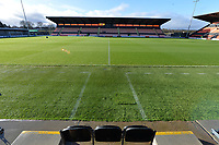 General View of Barnets ground The Hive Stadium  during Barnet vs Stockport County, Emirates FA Cup Football at the Hive Stadium on 2nd December 2018