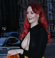 Victoria Clay<br /> Avenue St James VIP Cocktail Party, Mayfair, London, England on April 11, 2018.<br /> CAP/JOR<br /> &copy;JOR/Capital Pictures