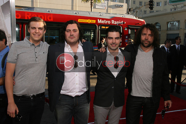 """The Boxer Rebellion<br /> at the """"Going The Distance"""" Los Angeles Premiere, Chinese Theater, Hollywood, CA. 08-23-10<br /> David Edwards/Dailyceleb.com 818-249-4998"""