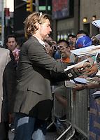 July 11, 2012 Mets pitcher R.A. Dickey at Late Show with David Letterman in New York City. &copy; RW/MediaPunch Inc. *NORTEPHOTO*<br /> **SOLO*VENTA*EN*MEXICO**<br /> **CREDITO*OBLIGATORIO** <br /> **No*Venta*A*Terceros**<br /> **No*Sale*So*third**<br /> *** No*Se*Permite Hacer Archivo**<br /> **No*Sale*So*third**