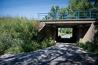 Renskouter tunnel under the railway in Geraardsbergen <br /> <br /> cycling hotspots & impressions in the Vlaamse Ardennen (Flemish Ardennes) <br /> <br /> Cycling In Flanders <br /> Flanders Tourist Board<br /> <br /> ©kramon