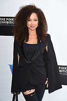 Natalie Gumede at the private view of The Pink Floyd: Their Mortal Remains Exhibition at the V&amp;A Museum, London, UK. <br /> 09 May  2017<br /> Picture: Steve Vas/Featureflash/SilverHub 0208 004 5359 sales@silverhubmedia.com