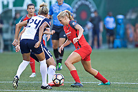 Portland, OR - Saturday July 22, 2017: Allie Long during a regular season National Women's Soccer League (NWSL) match between the Portland Thorns FC and the Washington Spirit at Providence Park.