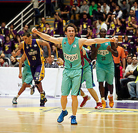 Huertas during Blancos de Rueda Valladolid V Barcelona ACB match. January 20, 2013..(ALTERPHOTOS/Victor Blanco) /NortePhoto