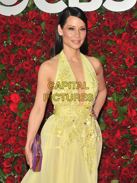 NEW YORK, NY - JUNE 12: Lucy Liu at the 70th Annual Tony Awards at The Beacon Theatre on June 12, 2016 in New York City. <br /> CAP/MPI/JP<br /> &copy;JP/MPI/Capital Pictures