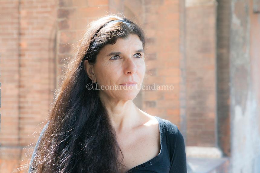 Ambra Somaschini, italian writer and jornalist, live in Roma. Cremona, giugno 2012. © Leonardo Cendamo