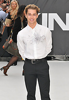 "Alex ""AJ"" Pritchard at the ""King of Thieves"" world film premiere, Vue West End, Leicester Square, London, England, UK, on Wednesday 12 September 2018.<br /> CAP/CAN<br /> ©CAN/Capital Pictures"