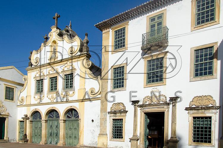 Igreja de Nossa Senhora das Neves - conjunto arquitetônico do Convento de São Francisco, primeiro estabelecimento franciscano do Brasil erguido em 1585, Olinda - PE, 12/2012.