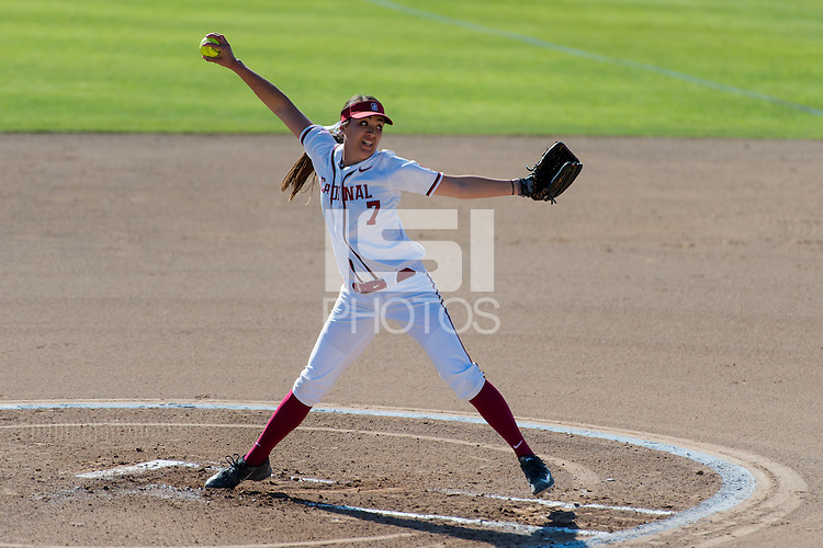 Stanford, CA, February 21, 2016<br /> Stanford Women's Softball vs. St.Mary's at the Boyd &amp; Jill Smith Family Stadium. Stanford won 6-4.