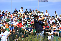 Adam Scott (AUS) tees off the 1st tee to start his match during Thursday's Round 1 of the 117th U.S. Open Championship 2017 held at Erin Hills, Erin, Wisconsin, USA. 15th June 2017.<br /> Picture: Eoin Clarke | Golffile<br /> <br /> <br /> All photos usage must carry mandatory copyright credit (&copy; Golffile | Eoin Clarke)