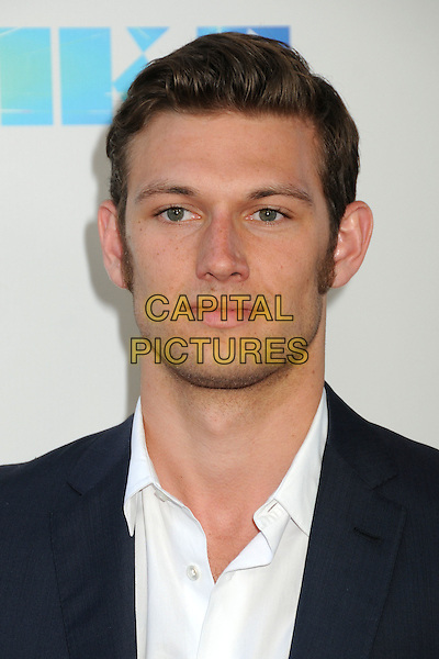 "Alex Pettyfer.""Magic Mike"" Los Angeles Film Festival 2012 Premiere held at Regal Cinemas LA Live, Los Angeles, California, USA..June 24th, 2012.headshot portrait sideburns facial hair  suit white shirt black  .CAP/ADM/BP.©Byron Purvis/AdMedia/Capital Pictures."