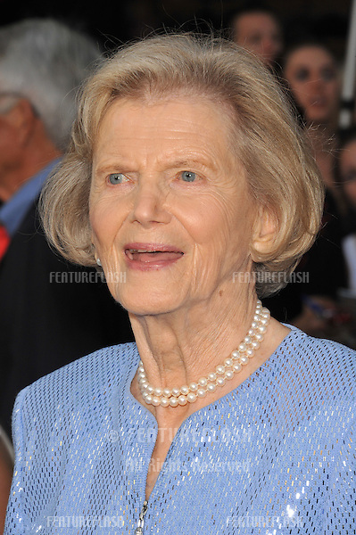 Penny Chenery at the world premiere of her new movie Secretariat at the El Capitan Theatre, Hollywood..September 30, 2010  Los Angeles, CA.Picture: Paul Smith / Featureflash
