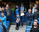 28.04.2019 Rangers v Aberdeen: Rangers fans