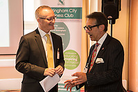 Mark Dyer of GET Management (left) and Nick Max of NG1 Group