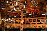 ALASKA, Juneau, the creatively decorated walls of the Red Dog Saloon in downtown Juneau