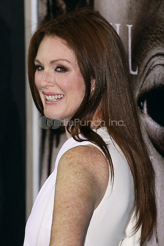 """HOLLYWOOD, CA - OCTOBER 07: Julianne Moore arrives at the """"Carrie"""" Los Angeles Premiere held at ArcLight Hollywood on October 7, 2013 in Hollywood, California. Credit: Collin/RTN/MediaPunch Inc."""