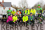 Finuge Freewheelers team at The Kerry Crusader cycle club in association with Orbis scenic challenge on Sunday Starting at the Listowel community centre