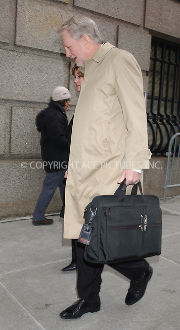 WWW.ACEPIXS.COM . . . . . ....NEW YORK, FEBRUARY 28, 2005....Former CEO of WorldCom, Bernie Ebbers, enters Federal Court.....Please byline: KRISTIN CALLAHAN - ACE PICTURES.. . . . . . ..Ace Pictures, Inc:  ..Philip Vaughan (646) 769-0430..e-mail: info@acepixs.com..web: http://www.acepixs.com