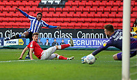 Moses Odubajo of Sheffield Wednesday shot saved by Dillon Phillips of Charlton Athletic during Charlton Athletic vs Sheffield Wednesday, Sky Bet EFL Championship Football at The Valley on 30th November 2019