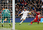 Real Madrid CF's Dani Carvajal  during UEFA Champions League match, groups between Real Madrid and Galatasaray SK at Santiago Bernabeu Stadium in Madrid, Spain. November, Wednesday 06, 2019.(ALTERPHOTOS/Manu R.B.)