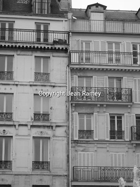 Parisian Rowhouses